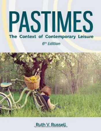 9781571678201-1571678204-Pastimes: The Context of Contemporary Leisure