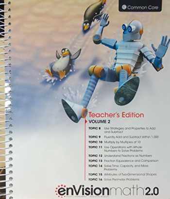 9780328827862-032882786X-enVision Math 2.0, Grade 3, Volume 2, Teacher's Edition, Common Core Edition, 2016