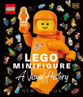 9781465497895-1465497897-LEGO® Minifigure A Visual History New Edition: With exclusive LEGO spaceman minifigure!
