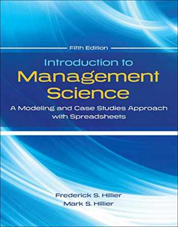 9780077825560-007782556X-Introduction to Management Science with Student CD and Risk Solver Platform Access Card: A Modeling and Cases Studies Approach with Spreadsheets