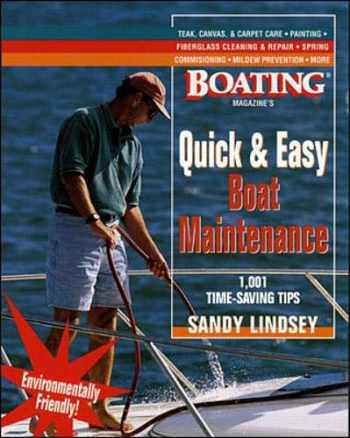 9780071343251-0071343253-Quick and Easy Boat Maintenance: 1,001 Time-Saving Tips
