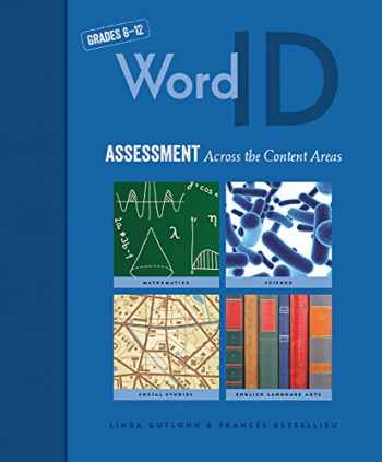 9781571288264-1571288260-Word ID: Assessment Across the Content Areas