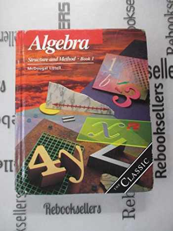 9780395771167-0395771161-Algebra Structure & Method Book 1