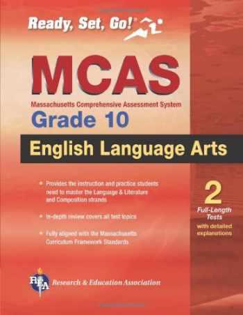 9780738601908-073860190X-MCAS English  Language Arts, Grade 10 (Massachusetts MCAS Test Preparation)