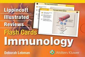 9781451195330-1451195338-Lippincott Illustrated Reviews Flash Cards: Immunology (Lippincott Illustrated Reviews Series)