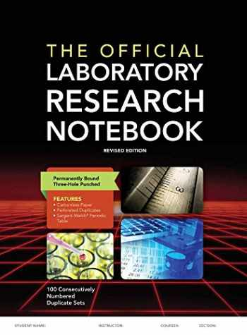 9781284029581-1284029581-The Official Laboratory Research Notebook (100 duplicate sets)
