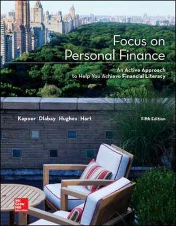 9780077861742-0077861744-Focus on Personal Finance (Mcgraw-Hill/Irwin Series I Finance, Insurance, and Real Estate) (Standalone Book)