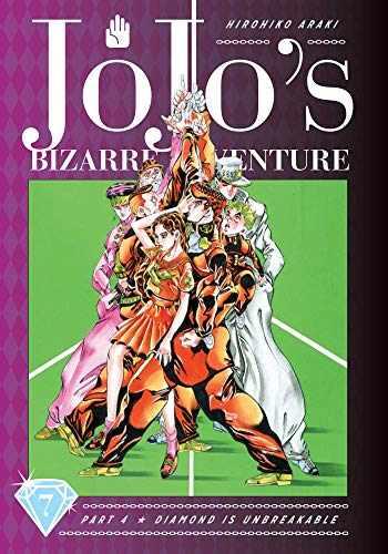 9781974708130-1974708136-JoJo's Bizarre Adventure: Part 4--Diamond Is Unbreakable, Vol. 7 (7)