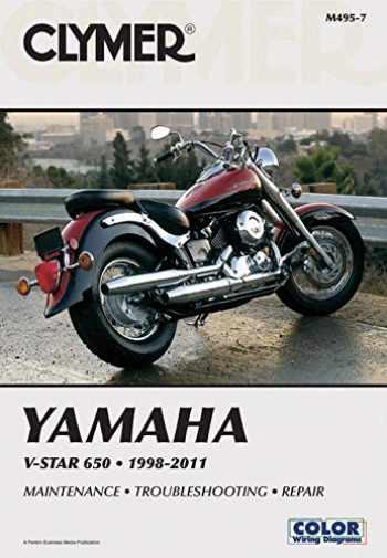 9781599696195-1599696193-Yamaha V-Star 650 1998-2011 (Clymer Manuals: Motorcycle Repair)