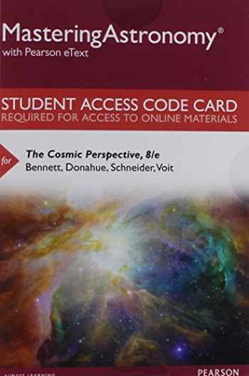 9780134110974-0134110978-Mastering Astronomy with Pearson eText -- Standalone Access Card -- for The Cosmic Perspective (8th Edition)