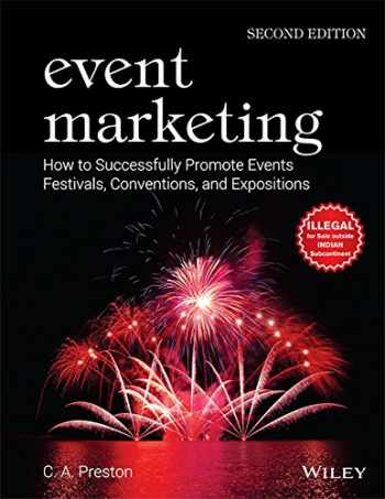 9788126557622-8126557621-Event Marketing: How To Successfully Promote Events, Festivals, Conventions And Expositions, 2Edition