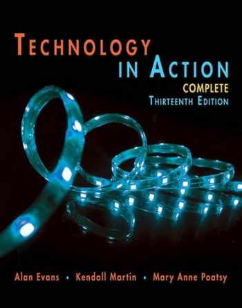 9780134289106-0134289102-Technology In Action Complete (Evans, Martin & Poatsy, Technology in Action)