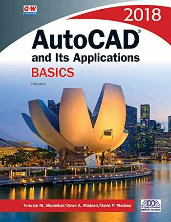 9781635630619-1635630614-AutoCAD and Its Applications Basics 2018