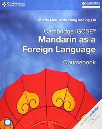 9781316629840-1316629848-Cambridge IGCSE® Mandarin as a Foreign Language Coursebook with Audio CDs (2) (Cambridge International IGCSE) (Chinese Edition)