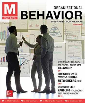 9780077720605-0077720601-M: Organizational Behavior