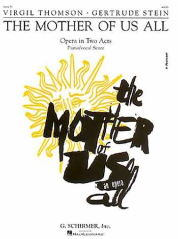 9780793570089-0793570085-The Mother of Us All: Vocal Score