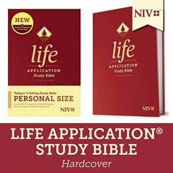 9781496440112-1496440110-NIV Life Application Study Bible, Third Edition, Personal Size (Hardcover)
