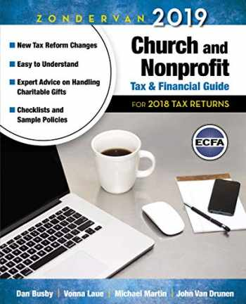 9780310588764-0310588766-Zondervan 2019 Church and Nonprofit Tax and Financial Guide: For 2018 Tax Returns