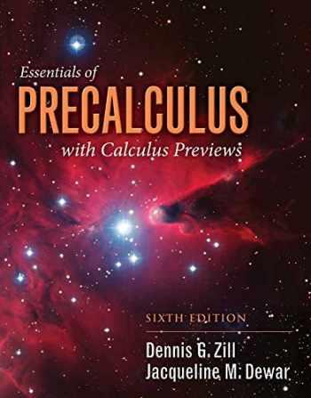 9781284056327-1284056325-Student Resource Manual to accompany Essentials of PRECALC (Jones & Bartlett Learning Series in Mathematics)