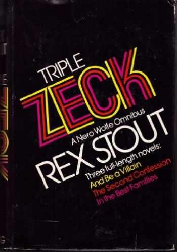 9780670731305-0670731307-Triple Zeck: A Nero Wolfe Omnibus