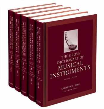 9780199743391-0199743398-The Grove Dictionary of Musical Instruments: 5-volume set