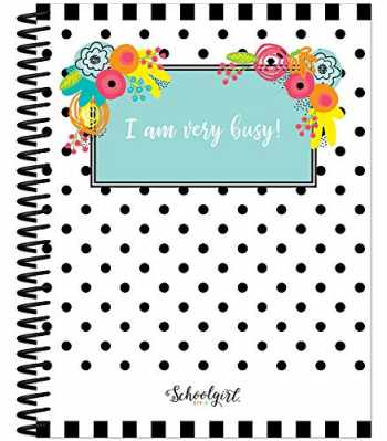 """9781483855837-148385583X-Schoolgirl Style Academic Teacher Planner - Undated Weekly/Monthly Plan Book, Simply Stylish Tropical Lesson Planner and Organizer for Classroom or Homeschool (8.4"""" x 10.9)"""