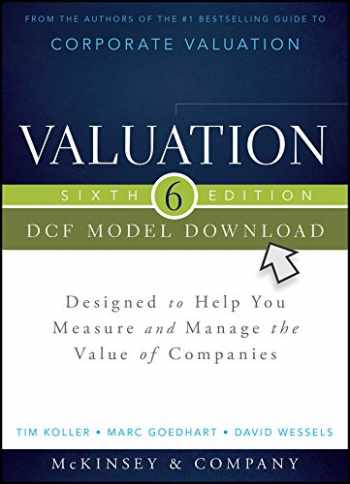 9781118873748-1118873742-Valuation DCF Model, Flatpack: Designed to Help You Measure and Manage the Value of Companies (Wiley Finance)