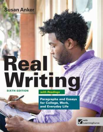 9781457601996-1457601990-Real Writing with Readings: Paragraphs and Essays for College, Work, and Everyday Life
