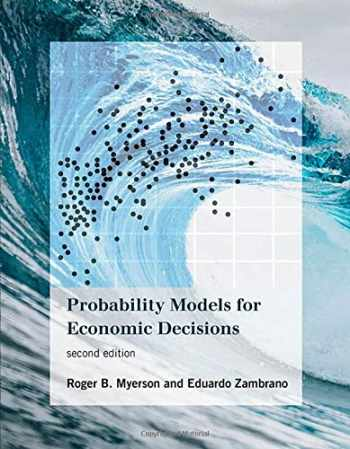 9780262043120-0262043122-Probability Models for Economic Decisions, second edition (The MIT Press)