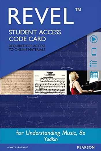 9780133940206-0133940209-Revel for Understanding Music -- Access Card (8th Edition)