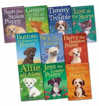9781847154187-1847154182-Holly Webb 10 books Collection Puppy and kitten Childrens Gift Set Sophy William (Timmy in Trouble, Max the Missing Puppy, Sam the Stolen Puppy, Buttons the Runaway Puppy, Harry the Homeless Puppy, more)