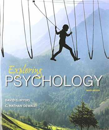 9781319061470-1319061478-Exploring Psychology 10e (Paper) & LaunchPad for Myers' Exploring Psychology 10e (Six Month Access)