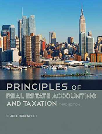 9781516525294-1516525299-Principles of Real Estate Accounting and Taxation