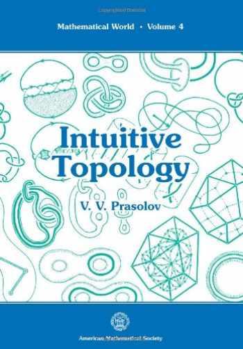 9780821803561-0821803565-Intuitive Topology (Mathematical World, Vol 4)