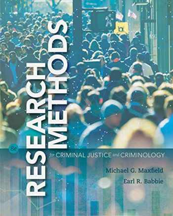9781337551502-1337551503-Bundle: Research Methods for Criminal Justice and Criminology, 8th + MindTap Criminal Justice, 1 term (6 months) Printed Access Card