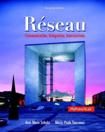 9780205932610-0205932614-Réseau: Communication, Intégration, Intersections, 2nd Edition (Myfrenchlab)