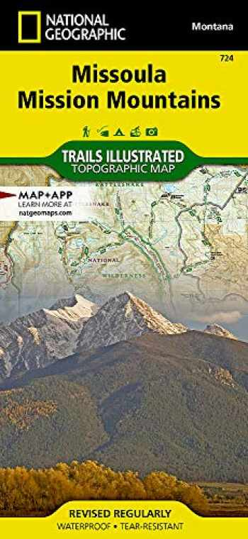 9781566956833-1566956838-Missoula, Mission Mountains (National Geographic Trails Illustrated Map, 724)