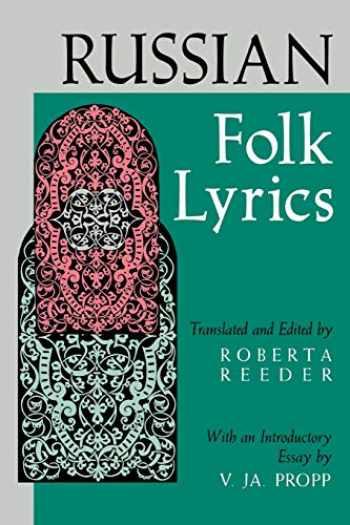 9780253207494-0253207495-Russian Folk Lyrics