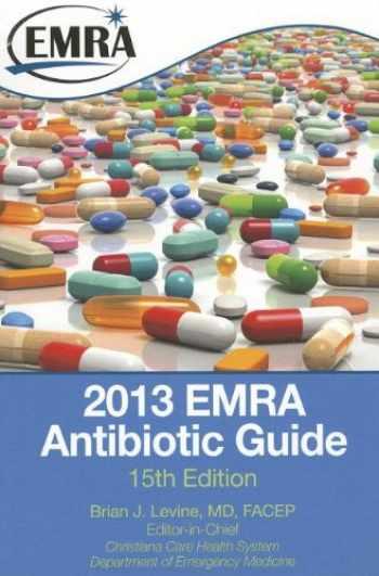 9781929854240-1929854242-2013 EMRA  Antibiotic Guide