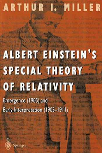 9780387948706-0387948708-Albert Einstein's Special Theory of Relativity: Emergence (1905) and Early Interpretation (1905–1911)