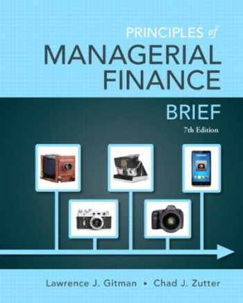 9780133740899-0133740897-Principles of Managerial Finance, Brief Plus NEW MyLab Finance with Pearson eText -- Access Card Package (7th Edition) (Pearson Series in Finance)