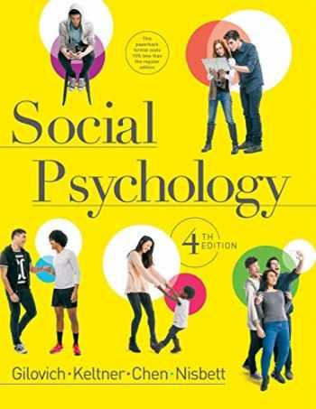 9780393906073-0393906078-Social Psychology (Fourth Edition)
