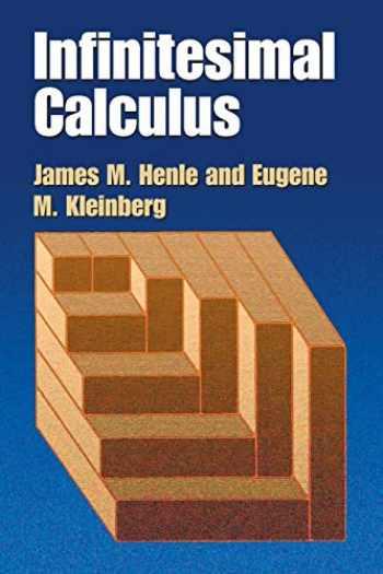 9780486428864-0486428869-Infinitesimal Calculus (Dover Books on Mathematics)