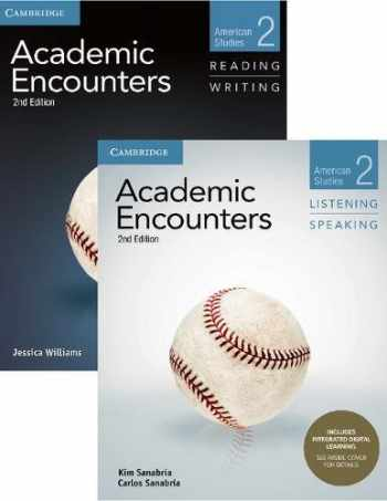 9781108573856-1108573851-Academic Encounters Level 2 2-Book Set (R&W Student's Book with WSI, L&S Student's Book with Integrated Digital Learning): American Studies