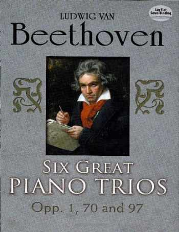 9780486253985-0486253988-Six Great Piano Trios in Full Score (Dover Chamber Music Scores)