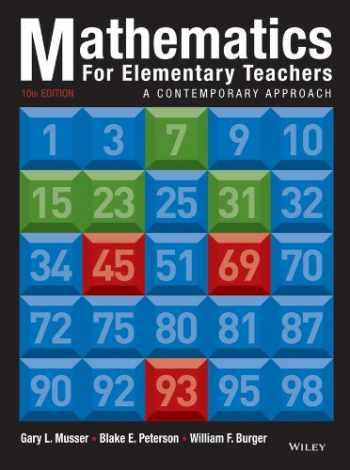 9781118457443-1118457447-Mathematics for Elementary Teachers: A Contemporary Approach