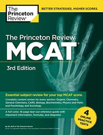 9780525567813-052556781X-The Princeton Review MCAT, 3rd Edition: 4 Practice Tests + Complete Content Coverage (Graduate School Test Preparation)