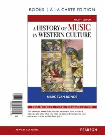 9780205932481-0205932487-History of Music in Western Culture, Books a la Carte Edition (4th Edition)