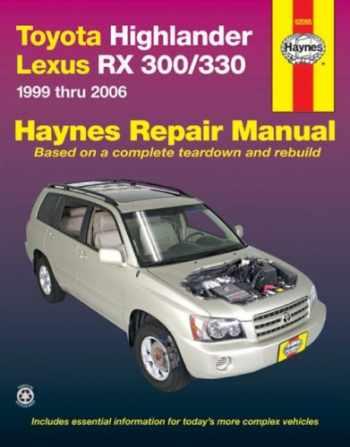 9781563926204-1563926202-Toyota Highlander and Lexus RX-330, 1999-2006