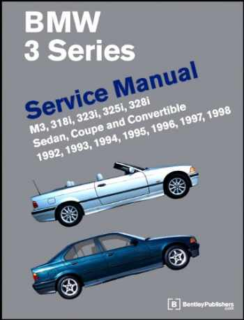 9780837603261-0837603269-BMW 3 Series (E36) Service Manual:  1992-1998